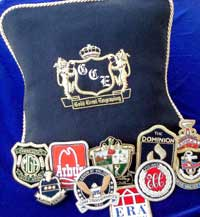 Pillow and Blazer Crests